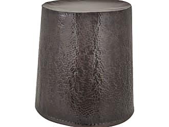 Dimond Home Bronze Drum Stool