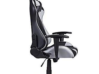 Pelegrin Cadeira Gamer Pelegrin em Couro Pu Reclinável Pel-3012 Preta e Cinza