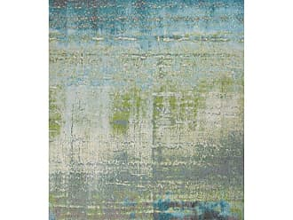 Kas Rugs KAS Oriental Rugs Illusions 6206 Blue/Green Escape Area Rug - ILL6206710X1010