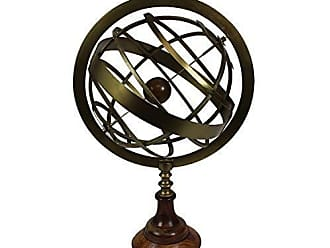 Urban Designs Brass Tabletop Armillary Nautical Sphere Globe, 20