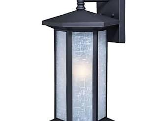 Vaxcel Lighting T0222 Halsted Single Light 19 Tall Photocell Outdoor