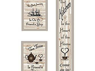 Trendy Decor 4 U Trendy Decor4UThe Kitchen Collection II Framed Prints Earth Tone