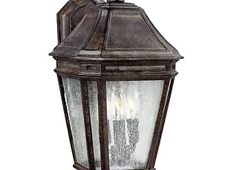 Feiss Londontowne 3 - Light Outdoor Sconce in Weathered Chestnut
