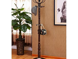 Home Source Industries Espresso Coat Stand - AF9720