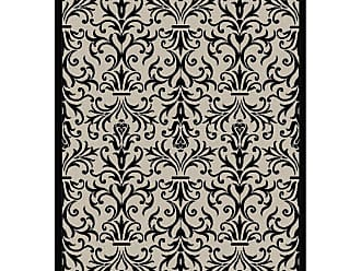 Dynamic Rugs Piazza French Indoor/Outdoor Area Rug - Sand/Black - PZ71027423901