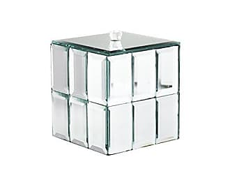 The Jay Companies American Atelier Tile Decorative Box, Silver