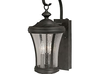 Vaxcel Lighting T0147 Hanover 3 Light 6 Wide Outdoor Wall Sconce with