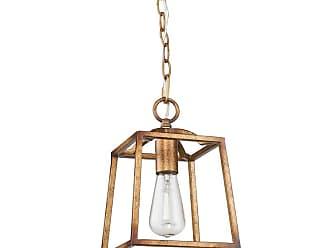 Golden Lighting 3071-1P Athena 1 Light Indoor Pendant - 7.625 Inches