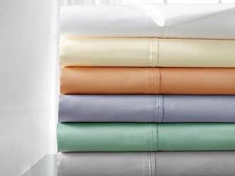 Elite Home Products 400 TC 100% Cotton Sheet Set 6 Piece - Lilac - Size: Cal King