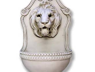 Orlandi Statuary Aged Lion Wall Indoor/Outdoor Fountain - F9072