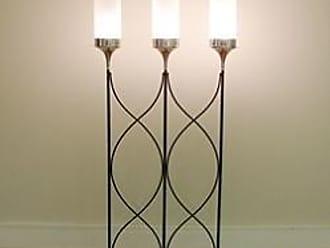 Global Views Top Hat Lighted Room Divider Floor Lamp