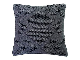 Foreside Home And Garden 20X20 Hand Woven Nia Pillow Gray