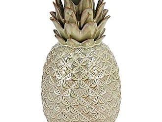 Home&Co Abacaxi Decorativo em Cerâmica Creme 27cm - Home&co