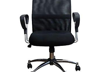 Pelegrin Cadeira Diretor Silver Tela Mesh Preta PEL-6052 - Pelegrin