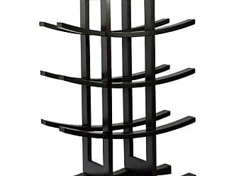 Oceanstar Oceanstar 12-Bottle Bamboo Wine Rack, Dark Espresso