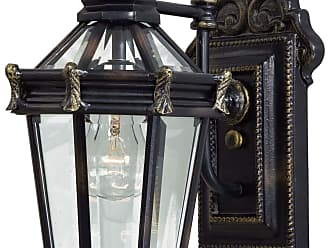 Minka Lavery Lighting 8937-95 1 Light Wall Mount in Heritage with Gold Highlights finish