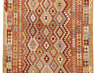 Nain Trading Hand Woven Kilim Afghan 711x511 Beige/Orange (Wool, Afghanistan)