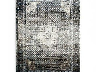 Gracewood Hollow Charlotte Traditional Distressed Oriental Blue/ Grey Area Rug (12 x 15 - slate)