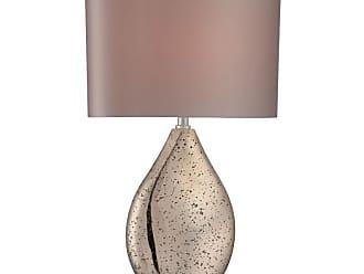 Lite Source Inc. LS-22711 Mandalay 1 Light Table Lamp Chrome / Gold Mirror