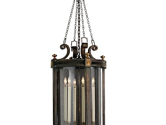 Fine Art Lamps 564382ST Beekman Place Five-Light Outdoor Pendant with