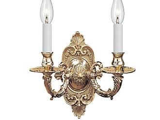 Crystorama 642-PB Traditional Polished Brass Wall Sconce