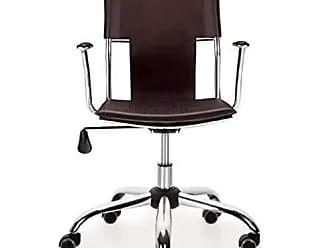 Pelegrin Cadeira Diretor Executiva em Couro Pvc Marrom Pelegrin Pel-6011
