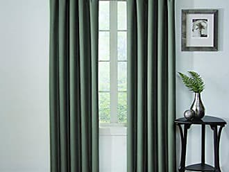 Ellery Homestyles Eclipse Corinne Blackout Window Curtain Panel, 42 x 95, River Blue