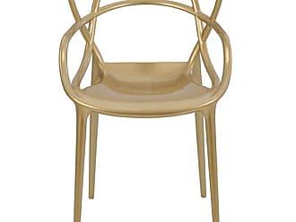 Rivatti Cadeira Allegra Masters Polipropileno Dourada