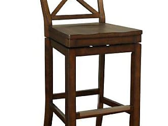 American Heritage Billiards Stetson Counter Height Stool, Brown