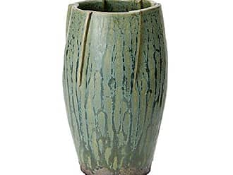 Madison Park Hand Made Ceramic Tuscan Vase Green Vases Home Decor Medium