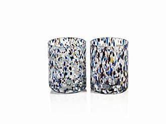 Zodax Amalfi Glass Tealight/Votive Candle Holder (Set of 6), 6 Piece