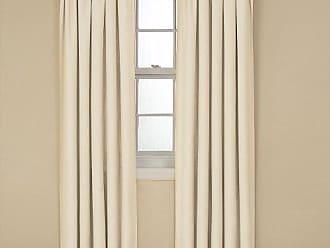 Ellery Homestyles Eclipse 42 x 84 Insulated Darkening Single Panel Rod Pocket Window Treatment Living Room, Ivory