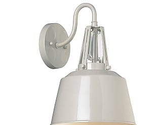 Feiss Freemont 1 Bulb Hi Gloss Grey Wall Sconce