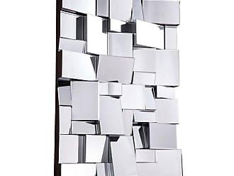 Elegant Furniture & Lighting Modern Wall Mirror - 47W x 31.5H in. - MR-3185