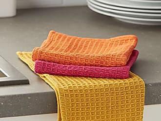 Danica Studio Bright waffled dishcloths Set of 3