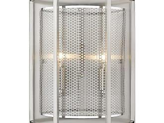 Eglo 202815A Verona 2 Light 12 Tall Wall Sconce Steel Indoor Lighting