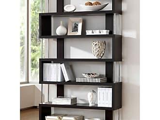 Baxton Studio Barnes 6 Shelf Bookcase - FP-6D