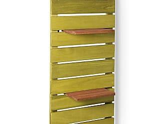 Mão & Formão Deck de Parede Vertical - AmareloAmarelo