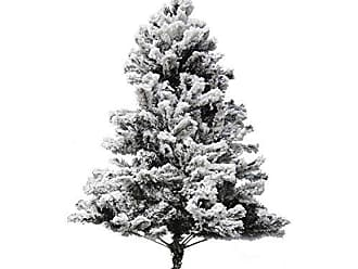 Niazitex Árvore de Natal Alaska Niazitex 1,50mx1,00m Verde/Branco