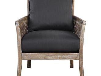 Uttermost Encore Dark Gray Armchair
