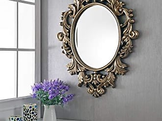 Kenroy Home Louis Accent Wall Mirror, 38 Inches by 28 Inches