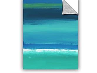 ArtWall Jan Weisss Rolling Tide I, Removable Wall Art Mural 18X24
