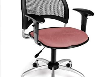 OFM 336-AA3-2208 Moon Swivel Chair with Arms, Coral