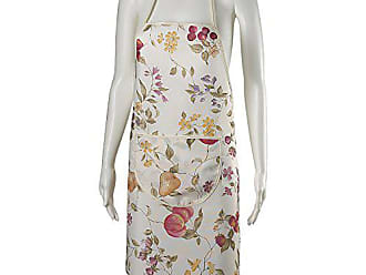 Violet Linen European 19121 Fruits Vintage Print Apron with Pocket