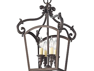 Feiss Luminary 4 Bulb Oil Rubbed Bronze Chandelier