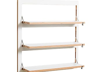 Fl/äpps Regal 40x40 wei/ß Kante Holz lackiert BxHxT 40x40x31cm klappbar