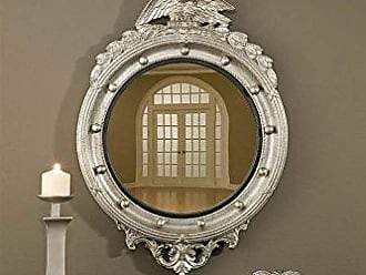 Hickory Manor House 6317SH Regency Eagle Convex Mirror/Shimmer