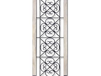 Infinity Instruments Antique Garden Gate Hanging Wall Accent Decor - 15596
