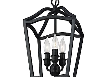 Feiss Yarmouth 3 - Light Foyer in Antique Forged Iron