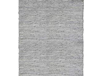 Niazitex Tapete Retangular de Couro Kochi Niazitex 2,40mx3,40m Cru